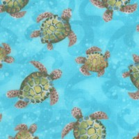 Ocean State - Swimming Turtles by Pam Vale