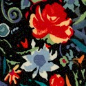 Matisse - Anja Floral on Black