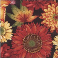 Autumn Time Floral by Color Principle