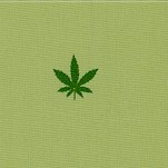 American Minis - Small Scale Marijuana Leaves (FLO-cannabis-X691)