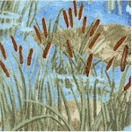A Lazy Afternoon - Cattails and Marshes