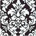 Dandy Damask in Black and White - BACK IN STOCK!
