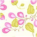 Eden - Delicate Floral in Pink and Green by Lila Tueller