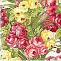 Victoriana - Delicate Floral on Cream