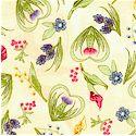 Whispering Glen - Tossed Floral on Cream
