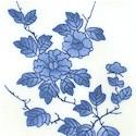Porcelain Blue Floral