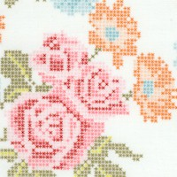 Hope Chest Cross-Stitch Florall by Josephine Kimberling