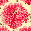 Petals - Delicate Floral in Raspberry by Tina Givens