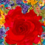 Flirtation - Lively Floral by Ro Gregg