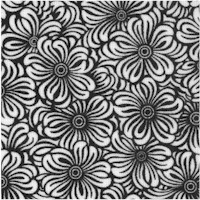 Day Dreamer - Black and White Packed Floral