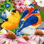 Bird Bath - Birds and Butterflies in the Garden - BACK IN STOCK!