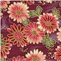 Han e mai - Gilded Asian Floral #3 by Yuko Hasegawa