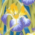 Lotus in Springtime - Gilded Irises #2