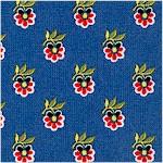 Mabel - Provence Design on Blue