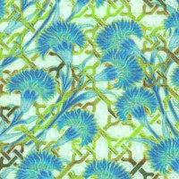 Pastiche - Delicate Floral in Blue and Green
