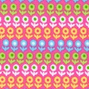 Pocketful of Posies - Colorful Petite Flowers on Pink