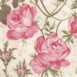 Rose Garden Tea for Two - Allover Roses by Ro Gregg Quest for a Cure