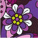Spirogyro Packed Floral in Purple