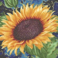 Here Comes the Sun - Gilded Sunflower Clusters