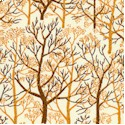 Trees in Brown and Butterscotch from the Victoria and Albert Museum