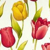 Rita Flora - Trina - Tossed Tulips on Cream
