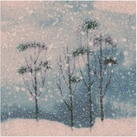 Wintery - Winter Countryside Scenic with Fairydust Glitter