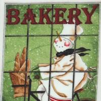Tidings of Great Joy - Baker's Dozen Vertical Stripe by J. Wecker Frisch