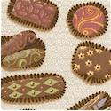 Chocolat - Gourmet Chocolate Vertical Stripe