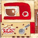 Coffee House - Coffee Maker Patchwork