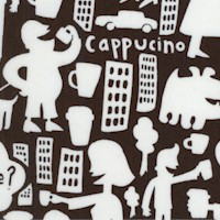 Coffee Rush - Caffeine City in Black and White