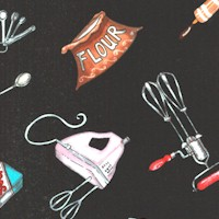 Tossed Baking Supplies and Equipment by Jennifer Garant