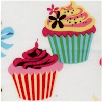 Sweet Tooth - Yummy Cupcakes on Ivory