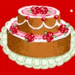 Gourmet Cakes on Polka-Dotted Red