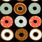 Suzy�s Minis #2 - Yummy Mini Donuts on Black