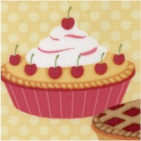 Confections - Yummy Pies on Polka Dots