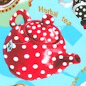Tea for Two - Tossed Teacups and Teapots #2 - LTD. YARDAGE AVAILABLE