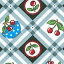 Very Very Cherry Diagonal Plaid by Mary Engelbreit - BACK IN STOCK!