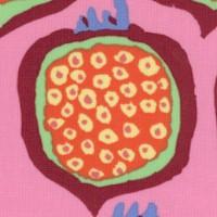 Pomegranates on Pink by Brandon Mably