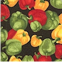 Farmer John's Mini Sweet Bell Peppers - SALE! (MINIMUM PURCHASE 1 YARD)