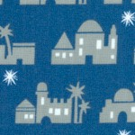 Christmas Pure and Simple - Bethlehem in Blue and Gray