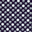 Hope and Glory - Small Scale Stars of David on Blue