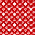 Hope and Glory - Small Scale Stars of David on Red