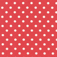 Friends and Flowers - Red and White Polka Dot by Mary Engelbreit