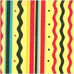 Retro Tea Vertical Stripe by Mary Engelbreit