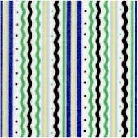 Retro Tea Vertical Stripe #2 by Mary Engelbreit