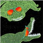 Reef Madness - Rockin' Crocs by Maria Kalinowski