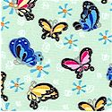 Bubbles and Butterflies - Small Scale Butterflies #1 by Beverlyann Stillwell