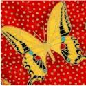 Tossed Gilded Butterflies
