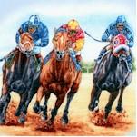 Horse Breeds - Horse Racing Scenes