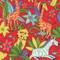 Little Jungle Jamboree - LTD. YARDAGE AVAILABLE